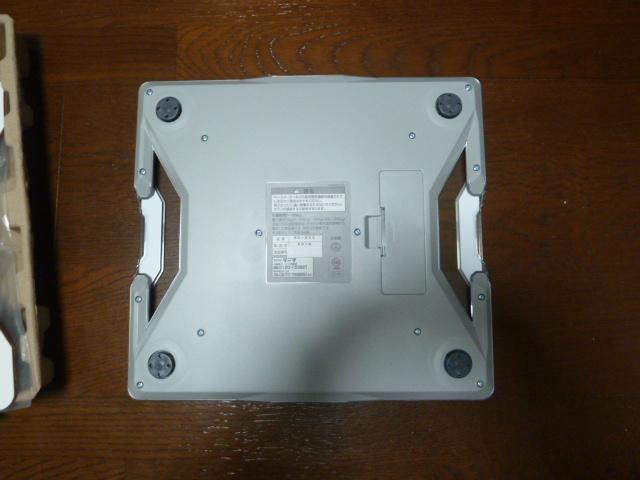 タニタ体組成計RD-903-WH底面