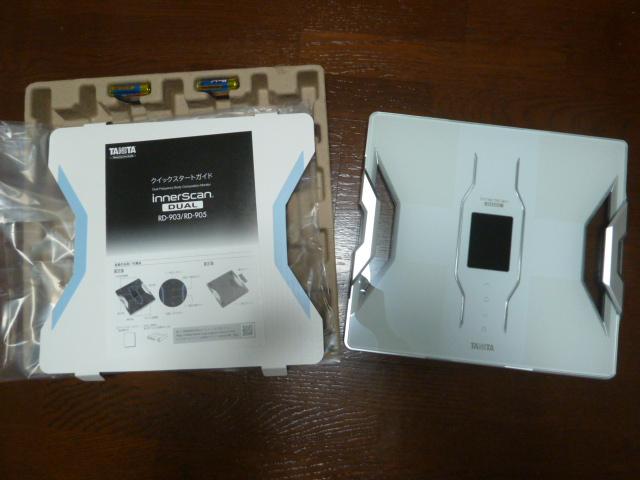 タニタ体組成計RD-903-WHホワイト