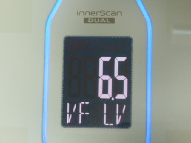 ディープチェンジHMB2017年4月9日内臓脂肪レベル