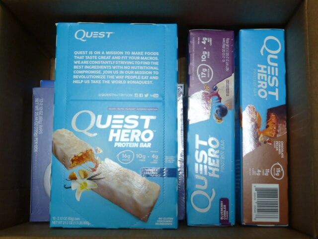アイハーブの箱商品の梱包
