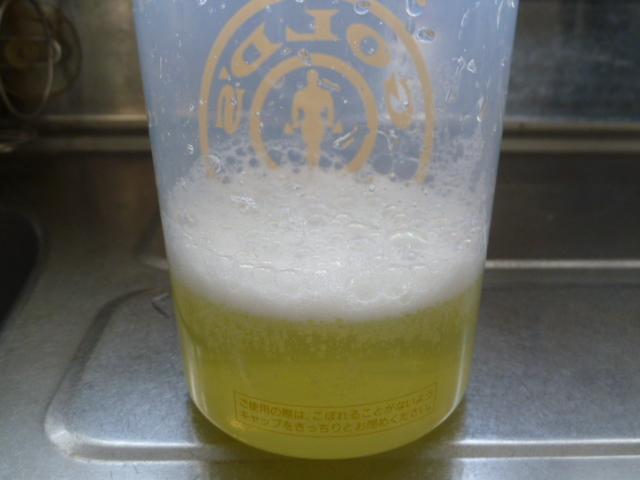 エクステンドパイナップル味水150mlと粉末5g