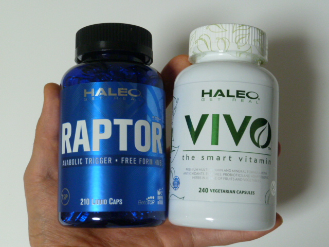 ハレオのラプターとビボ