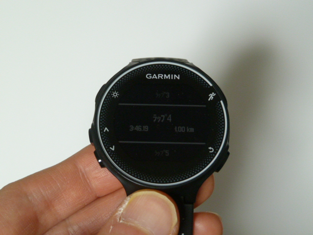 garminforeathlete230j1km3分46秒ペース