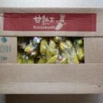 ネットでバナナの甘熟王15kg購入