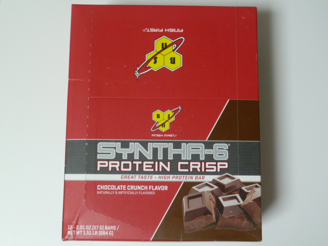 BSNシンサ6プロテインクリスプ・チョコレートクランチ味