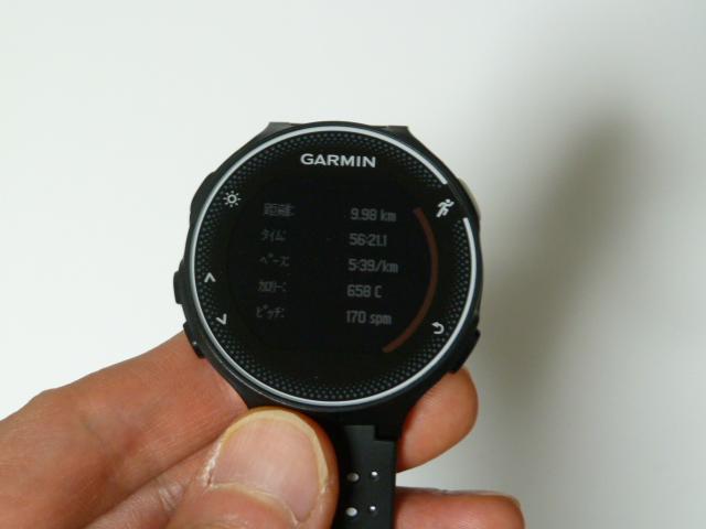 ガーミン230J9.98km