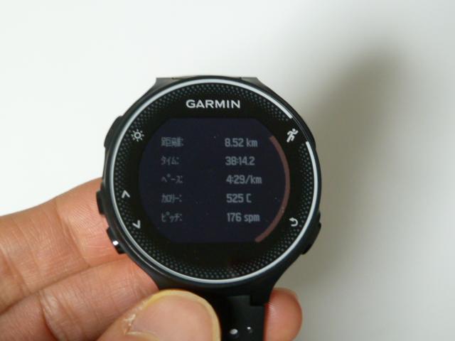 ガーミン230J8.5km