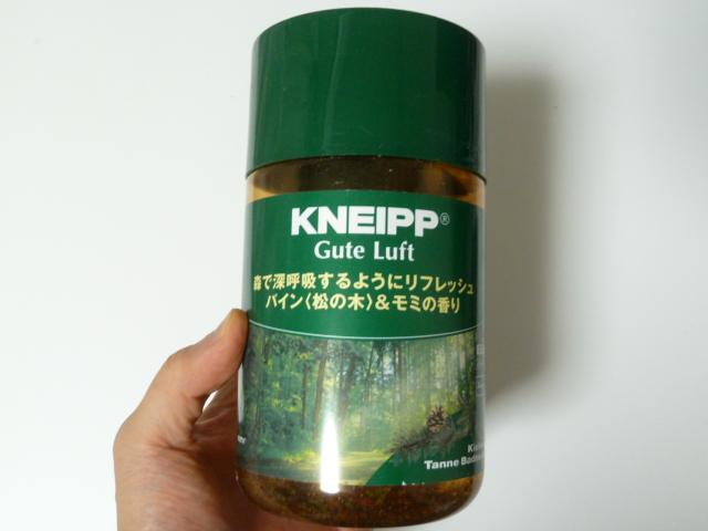 クナイプのパイン松の木&モミの香り