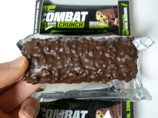 コンバットクランチのチョコレートチップクッキーダフ味は美味しい