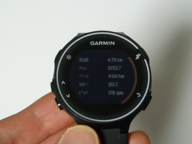 garmin230j2018年3月5日4.8km