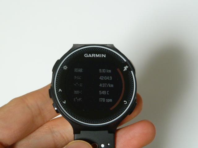 ガーミン230J9.1km