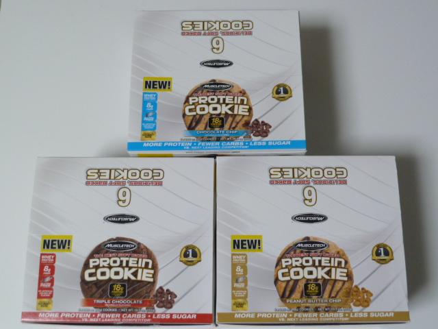 マッスルテック・プロテインクッキー価格や容量や成分