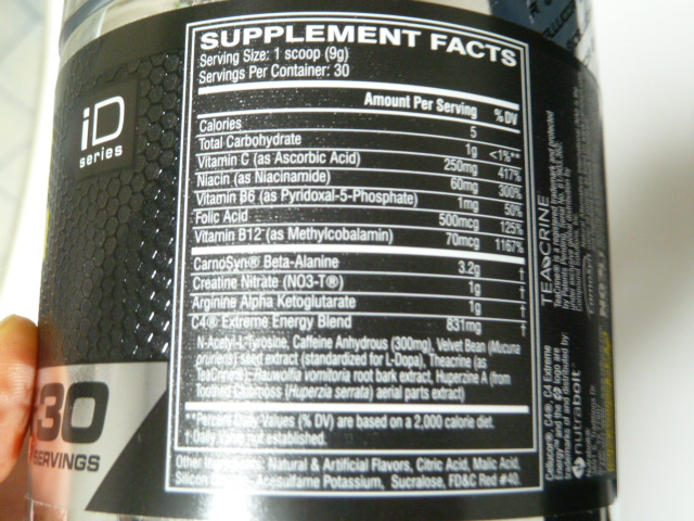 cellucor-c4-extremeenergy-facts