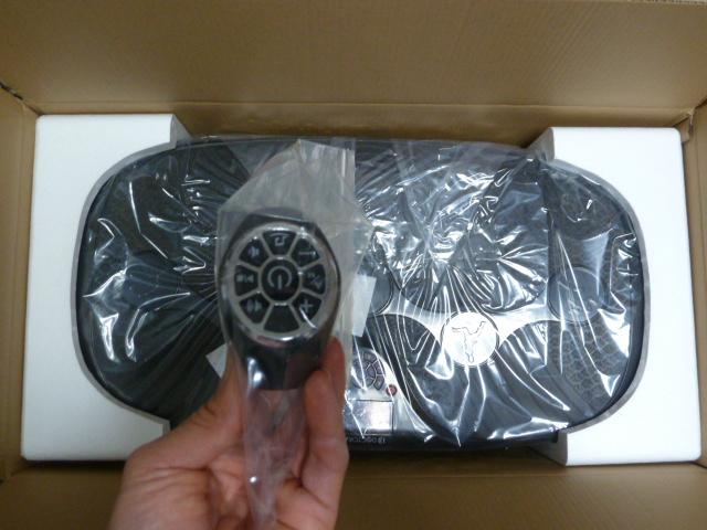 ドクターエアn3DスーパーブレードSの腕時計型リモコン