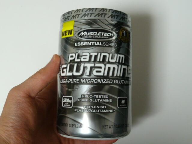 マッスルテックのプラチナムグルタミン