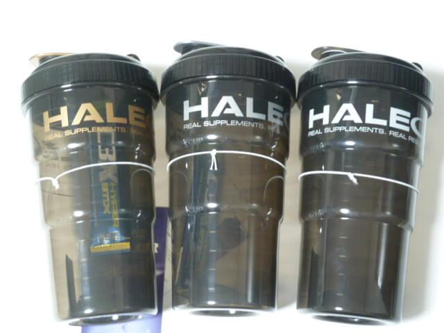 HALEOサイクロンシェイカーメタル限定版2種類