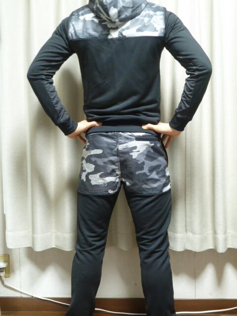 リーボック・堀口恭司着用モデルの上下セットアップ黒