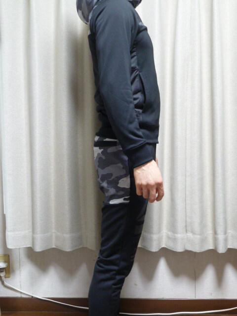堀口恭司モデル・リーボックハイブリッドジャケット&パンツ