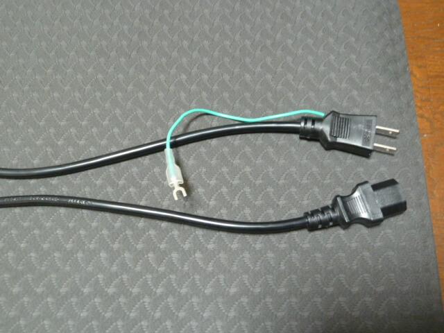 3Dスーパーブレードスマートの電源コードアース線付き