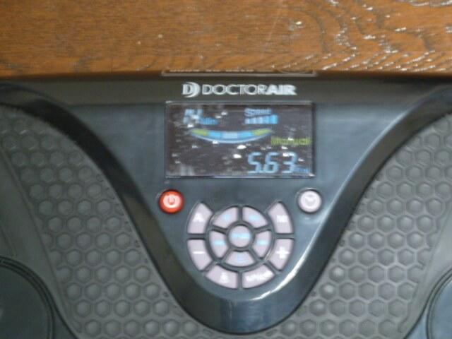 3DスーパーブレードSの消費カロリーと走行距離測定機能