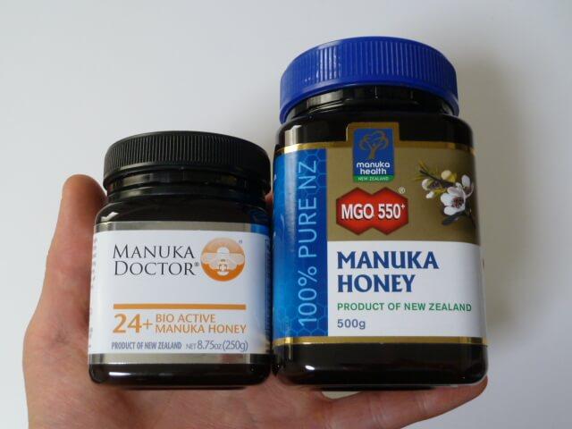 マヌカドクターとマヌカヘルス社のマヌカハニー