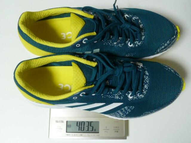 adidasのadiZERO RCの重量は片足200g前後