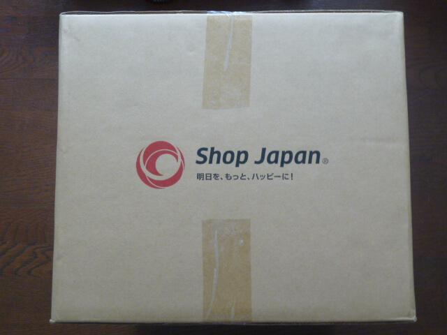 ショップジャパンの箱の大きさ