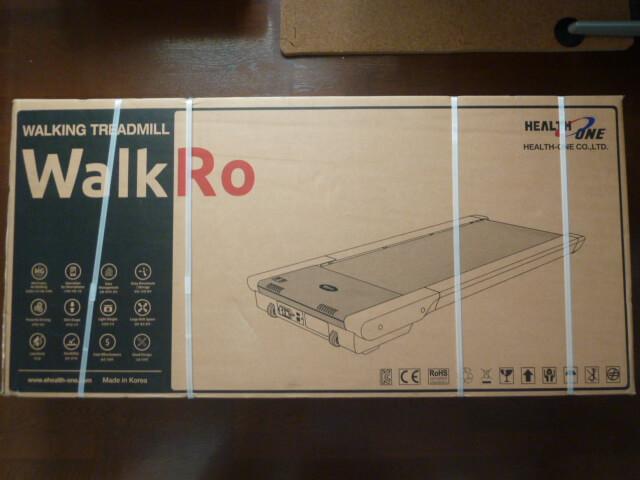 家庭用ウォーキングマシンWalkRo(ウォークロ)