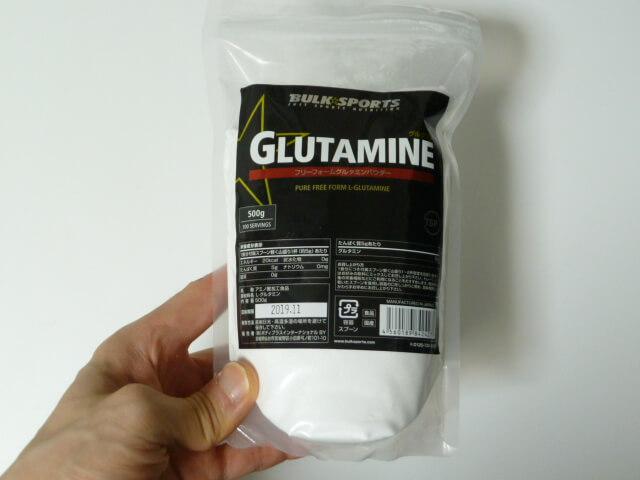 バルクスポーツのグルタミン