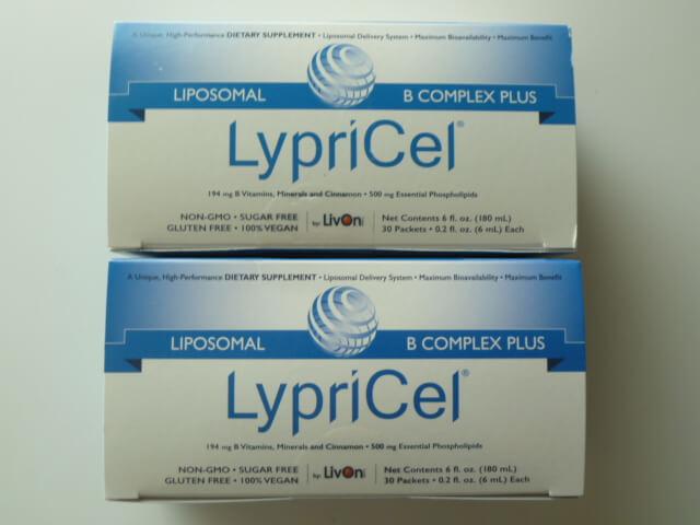 LypricelのリポソームBコンプレックスプラス青色2箱