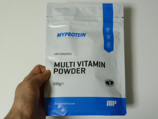 マイプロテインのマルチビタミンパウダー