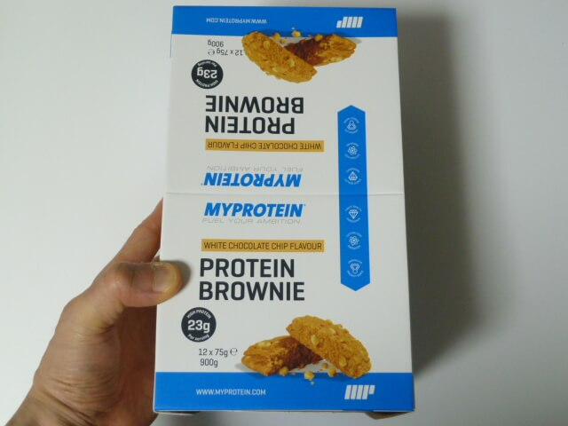 マイプロテインのプロテインブラウニー2種類の味