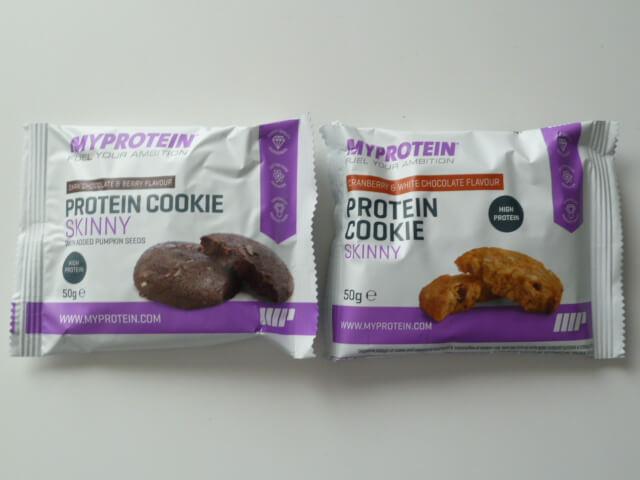 マイプロテインのクッキースキニー2種類の味をレビュー