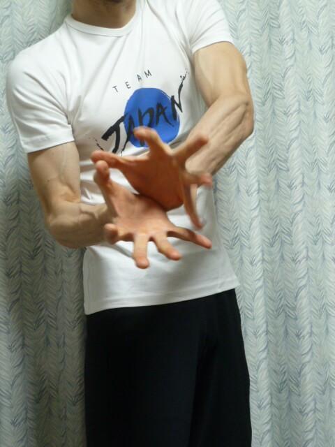 マイプロテインのチームジャパンTシャツサッカー日本代表応援