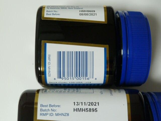マヌカヘルスのマヌカハニーの賞味期限は3年以上