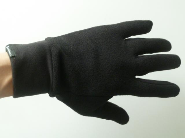 メタックスの手袋 メンズ ブラック
