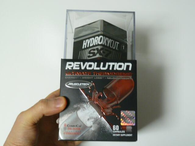 ハイドロキシカットのSX-7 Revolution(燃焼系サプリ)