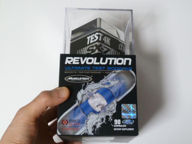 マッスルテックのTEST 4K REVOLUTION