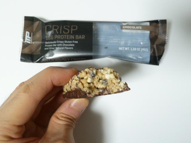 コンバットクリスプのチョコレート味は超美味い!