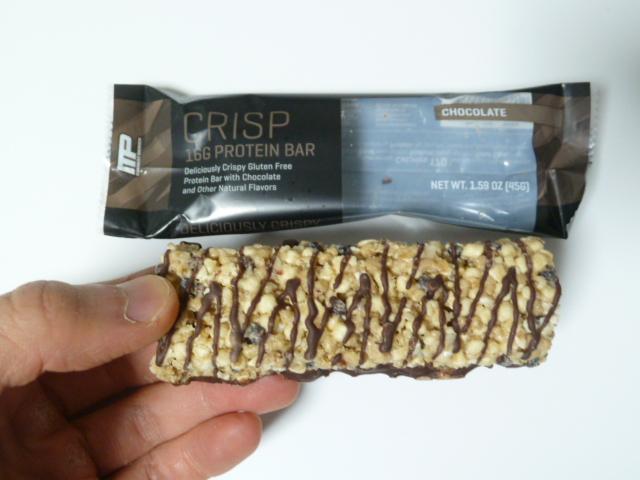 マッスルファームのプロテインバーのチョコレート味