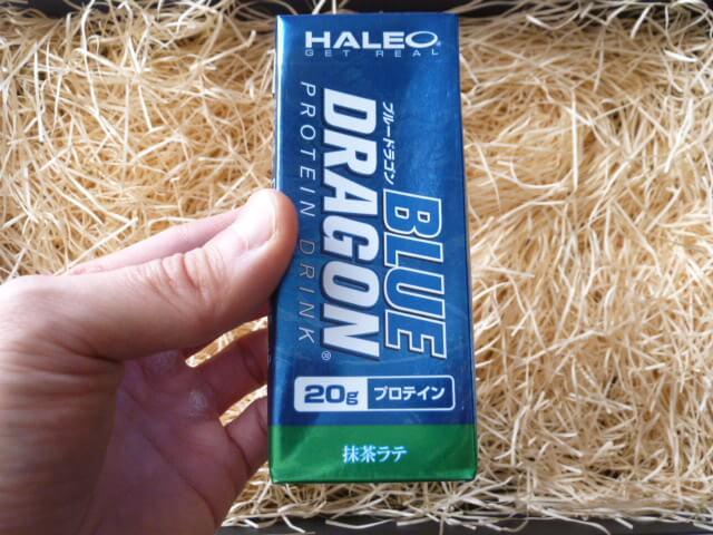 ハレオのブルードラゴン「抹茶ラテ味」