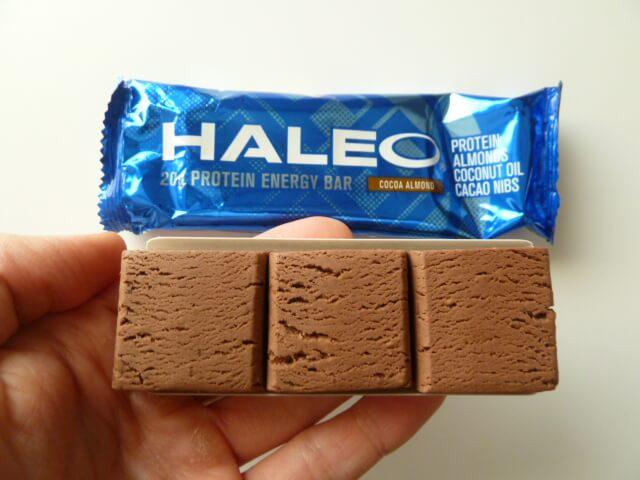 ハレオバーの新製品ココアアーモンド味