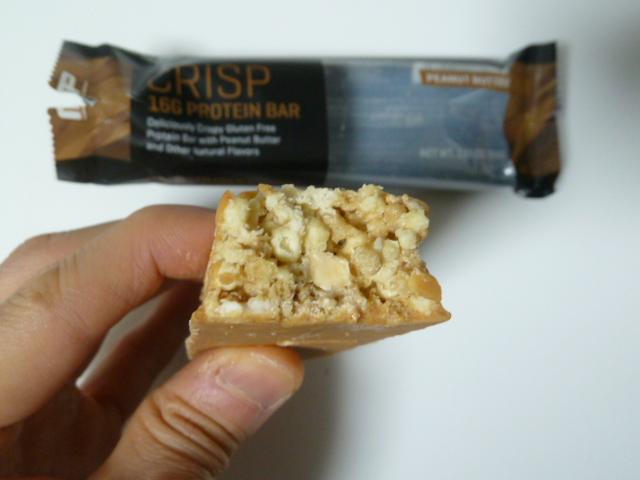 マッスルファーム「コンバットクリスプ」のピーナッツバター味