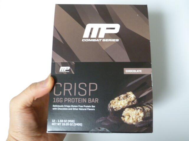 マッスルファームのコンバットクリスプのチョコレート味