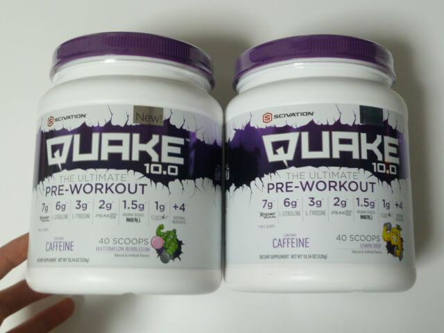 サイベーションのQUAKE(クエイク)10.0 2種類の味