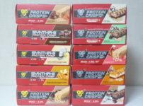 BSNのプロテインクリスプ全10種類の味
