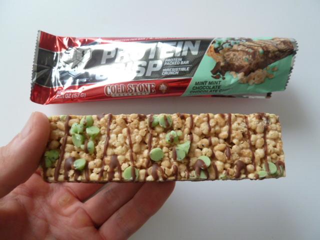 BSNシンサ6のプロテインクリスプ「ミントミントチョコレートチップ味」