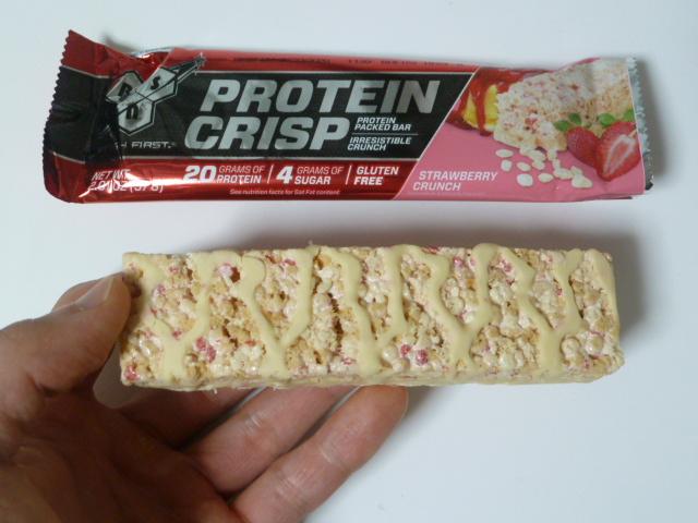 BSNのシンサ6プロテインクリスプ「ピーナッツバタークランチ味」