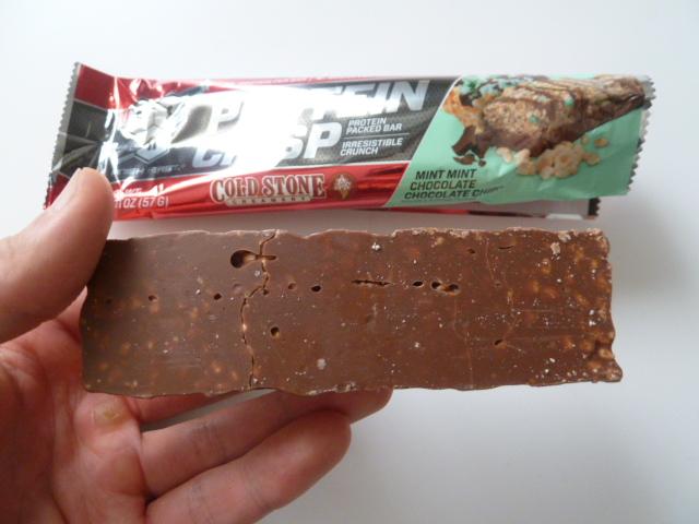 BSNのシンサ6のコールドストーンのミントミントチョコレートチョコレートチップ味
